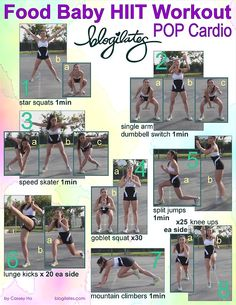 blogilates: FOOD BABY HIIT PRINTABLE!!!