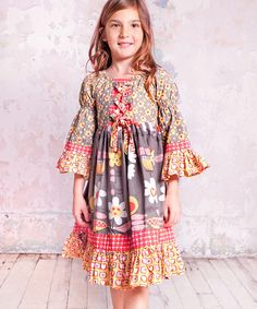 7b822bbe Take a look at this Jelly the Pug Indian Summer Marquee Dress - Infant,  Toddler