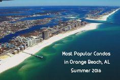 Most Popular Orange Beach Condos Summer 2016