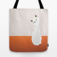 cat doll Tote Bag by SEVENTRAPS | Society6