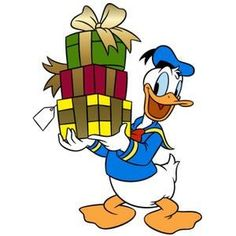Christmas - Disney - Donald Duck