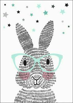 Art Room Britt: Rabbit Illustration Using Line Rabbit Illustration, Illustration Art, Lapin Art, Illustration Mignonne, Bunny Art, Nursery Art, Art Education, Art For Kids, Illustrator