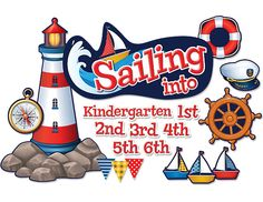 Sailing Into...Bulletin Board Display Set
