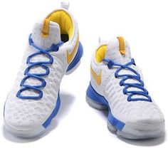 best sneakers 7594f 5b4c7 Nike Zoom KD 9 Lmtd EP Mens Basketball Shoes White sapphire blue yellow, cheap  KD If you want to look Nike Zoom KD 9 Lmtd EP Mens Basketball Shoes White  ...