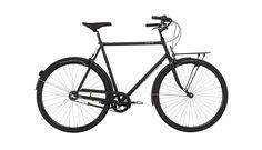 Creme Caferacer Solo - Vélo de ville Homme - 3-speed noir