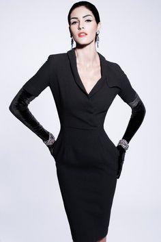 Zac Posen Pre-Fall 2012 Fashion Show - Hilary Rhoda