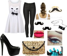 """""""Party All Night!"""" by emilija-milda ❤ liked on Polyvore"""