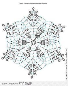 Login - Her Crochet Crochet Snowflake Pattern, Christmas Crochet Patterns, Crochet Motifs, Crochet Doily Patterns, Crochet Snowflakes, Crochet Diagram, Thread Crochet, Crochet Flowers, Free Crochet