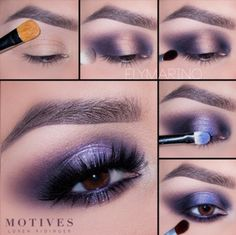 Get the Look with Motives: Deep Shimmer Blue Makeup Tutorial