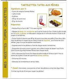 Tartelettes tatin aux peches