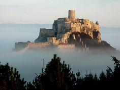 Spiš Castle by Miro Simko, via Behance Mount Rushmore, Palace, Medieval, Castle, Behance, Fandoms, Mountains, History, City