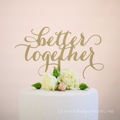 Each of our artisan cake toppers are designed with love and locally crafted in Vancouver, BC. Our toppers are the perfect final touch to your