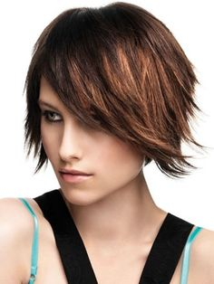 Choppy Trendy Hairstyles for 2013   Trendy Medium Hair Styles 2012