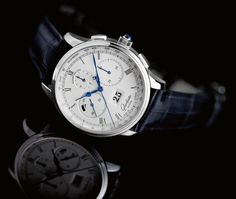 Glashutte Original Senator Chronograph Panorama Date in platinum