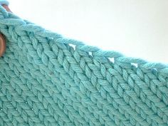How to pick up stitches for a smooth neckline edge - By Theresa Vinson Stenersen