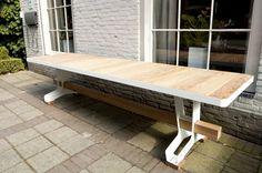 Big Pillows Long Table (3mtr) Big Pillows, Outdoor Furniture, Outdoor Decor, Decks, Porch, Tables, Lounge, Exterior, Patio