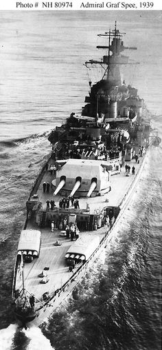 Admiral Graf Spee. 15 November 1939: Australian, British and French warships began patrolling the Indian Ocean when the German pocket battleship Admiral Graf Spee sank the tanker Africa Shell south of Madagascar.