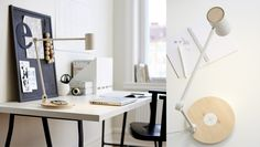 Lately, we see more and more furniture with charging possibilities. On all levels, from IKEA to high design, designers think of clever solutions for our Ikea Design, Nachhaltiges Design, House Design, Creative Design, Table Led, Ikea New, Smartphone, Ikea Home, Home Look