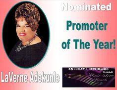 Vote for LaVerne www.anjelicarecords.com