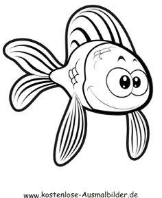 ausmalbild fisch (mit bildern) | ausmalbilder fische