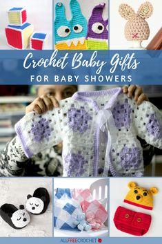 Find crochet baby booties, baby blankets, crochet baby hat patterns, and other patterns that will make the best crochet baby gifts for showers. Free Baby Patterns, Crochet Baby Dress Pattern, Crochet Baby Hat Patterns, Blanket Patterns, Baby Cocoon Pattern, Crochet Baby Cocoon, Crochet Baby Booties, All Free Crochet, Cute Crochet