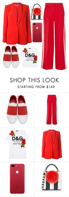 """""""casual style"""" by faesadanparkaia ❤ liked on Polyvore featuring Givenchy, Fendi, Dolce&Gabbana, STELLA McCARTNEY and Les Petits Joueurs"""