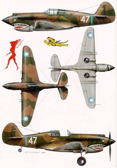 P-40 Flying Tigers in China
