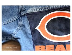 #BEARS #Chicago children's size 5/6 #upcycled #ecofriendly #sustainable jacket by SweetOliveCouture