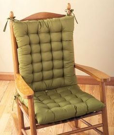 LTD Commodities Rocking Chair Cushion Set