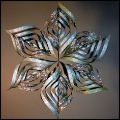 Cowie's Craft & Cooking Corner: 3D Snowflake Tutorial