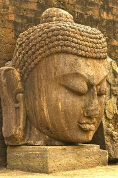 """""""Life is not happening to you. Life is responding to you."""" ~     ~ Author Unknown  * Exquisite stone Buddha. Ratnagiri, Orissa, India   <3 lis"""