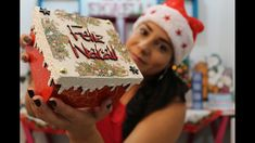 Especial de Natal #3 | Caixa com Craquelê