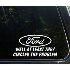 Funny Decal And On The First Day God Made A Chevy Window Decals - Window decals for vehicles
