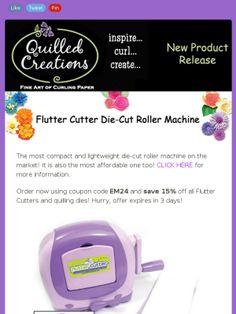 flutter cutter diecut machine