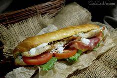Σαλάτα Σίζαρς ή Caesar's, μία σαλάτα αυτοκρατορική ⋆ Cook Eat Up! Hot Dog Buns, Hot Dogs, Dessert Recipes, Desserts, Greek Recipes, Recipies, Bread, Ethnic Recipes, Food