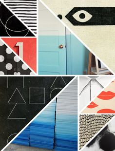 Mood board style, layout, angles, clean cut, energetic yet controlled