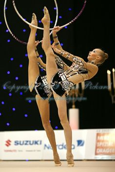 Rhythmic Gymnastics team (RUS) from Valentine 2009 Competition