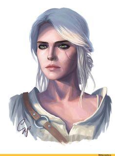 Цири,Witcher Персонажи,The Witcher,Ведьмак, Witcher, ,фэндомы,samdoarts,artist