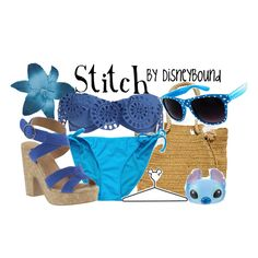 Stitch, created by lalakay on Polyvore