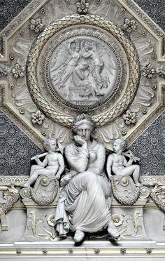 Louvre Ceiling Spandrel  ~ Pierre Lescot