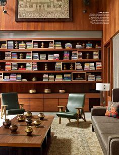 Home Decor Living Room Mid Century Modern Living room.Home Decor Living Room Mid Century Modern Living room Mid Century Modern Living Room, Mid Century House, Living Room Modern, Living Room Decor, Dining Room, Mid Century Modern Bookcase, Mid Century Modern Furniture, Midcentury Bookcases, Modern Bookshelf