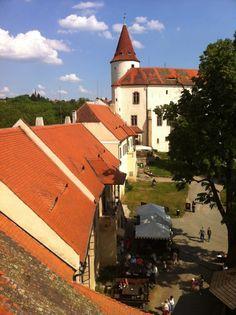 Křivoklát castle, one of three castles that are an hours drive outside Prague.