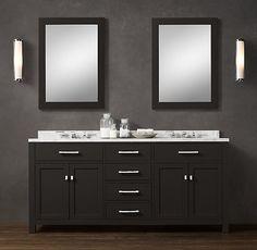 Hutton Double Vanity Sink | Double | Restoration Hardware