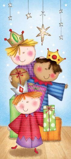 Kids, three kings.... Cute