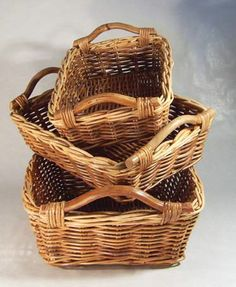 3 Compartment Wicker Laundry Hamper Wicker Laundry