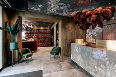 Projects made with wallpaper Interior Concept, Interior Design, Graz Austria, Hotel Breakfast, Greece Hotels, Grand Budapest Hotel, Dinner Club, Bring Them Home, Crazy Friends