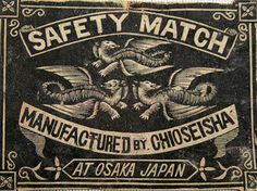 Packet Matchbox Label