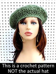 c8ab376444c 7 Best Crochet beret pattern images