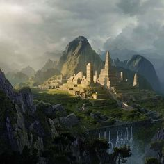 Professional digital matte painter Sarel Theron shows you how to create an epic, Hollywood-style scene that recreates the fabled Lost City of the Incas in incredible detail with the liberal use of the Clone Stamp tool.