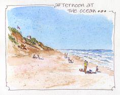 Everyday Artist: Sketchbook Journeys - Cape Cod: Days 3-5